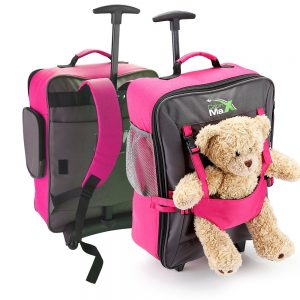Childrens Luggage Carry On Trolley Suitcase