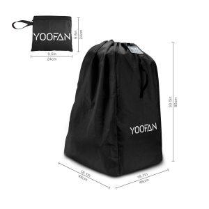 Gate Check Travel Bag with Backpack Shoulder Straps