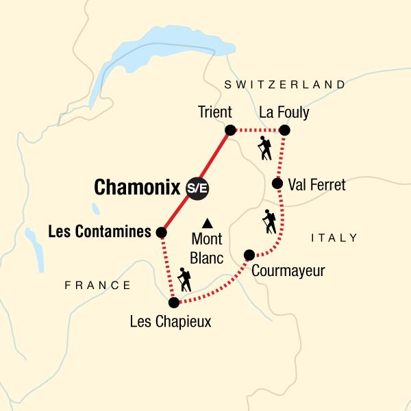 Chamonix Mont Blanc Trekking Tour