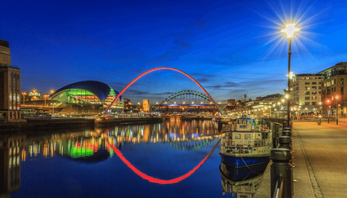 Cruises from Newcastle 2021/2022